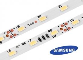24V LED Streifen SAMSUNG / 300 LED / 2700 bis 6000 Kelvin / CRI>80
