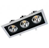Verstellbare LED Einbauleuchte - TRE SLM optional in 60 Watt oder 96 Watt