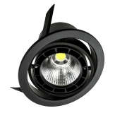 Verstellbare LED Einbauleuchte LUCERNA TURN SLM in 20 und 34 Watt