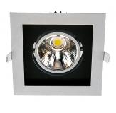 Verstellbare LED Einbauleuchte - UNO SLM optional in 20 Watt oder 32 Watt