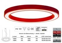 SATURN 1500 LED - Pendelleuchte in allen RAL Farben / Licht direkt