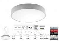 Pendelleuchte PLAFO 300 PND Licht direkt / indirekt 300mm Durchmesser