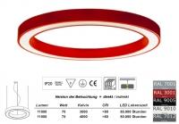 SATURN 1000 LED Pendelleuchte Licht direkt / indirekt 1m Durchmesser
