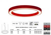SATURN 650 LED Pendelleuchte Licht direkt / indirekt 650mm Durchmesser