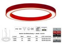 SATURN 1250 LED Pendelleuchte Licht direkt / indirekt 1,25m Durchmesser
