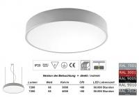 Pendelleuchte PLAFO 500 PND Licht direkt / indirekt 500mm Durchmesser