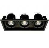 Verstellbare LED Einbauleuchte - TRE FIX MINI mit 33 Watt Licht in CRI>90