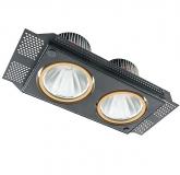Verstellbare LED Einbauleuchte - DUO TRIMLESS SLM in 40 Watt oder 64 Watt