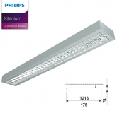 LED Pendelleuchte ECO PMF LED SR mit 57 Watt in 3000 Kelvin + 4000 Kelvin
