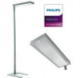 LED Stehleuchte Office LED SLIM SR mit 29 Watt in 3000 Kelvin + 4000 Kelvin