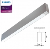 LED Pendelleuchte PROFI H 60 LED SR Licht direkt / indirekt von 24W bis 60W