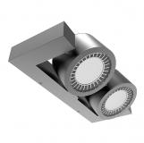 LED Outdoor Wandleuchte COIN Wall 1 optional in 32 Watt oder 46 Watt