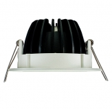 LED Einbauleuchte - LED 90 mit 10 Watt in 3000 Kelvin oder 4000 Kelvin