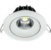 LED Einbauleuchte - LED 90-CR 10 Watt in 3000 Kelvin oder 4000 Kelvin