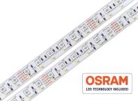24V LED Streifen - OSRAM RGB+W / 300 LED / 2700 bis 6000 Kelvin / CRI>80
