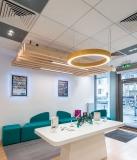 FOYER 1200 LED Pendelleuchte Licht direkt / indirekt 1,2m Durchmesser