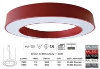 FOYER 1500 LED Pendelleuchte in allen RAL Farben / Licht direkt