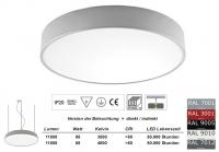 Pendelleuchte PLAFO 650 PND Licht direkt / indirekt 650mm Durchmesser