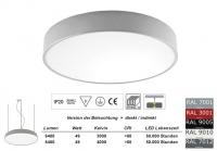 Pendelleuchte PLAFO 430 PND Licht direkt / indirekt 425mm Durchmesser